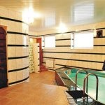 Сауна гостиничного комплекса Дейма